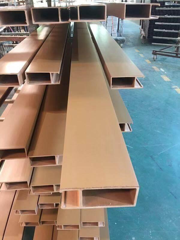 Eco Wood - Cielo Raso PVC Teak Image
